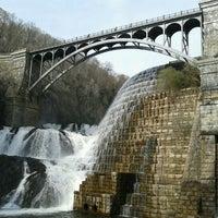 Photo taken at Croton Gorge Park by Sarah B. on 4/28/2013