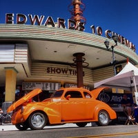 Photo taken at Edwards Brea West 10 by Angus N. on 10/27/2013