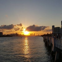 Photo taken at South Pointe Pier by Omar T. on 5/1/2016