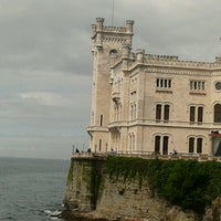 Photo taken at Castello di Miramare by Serena S. on 4/28/2013