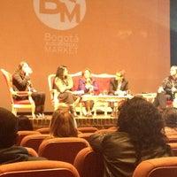 Photo taken at Teatro Gimnasio Moderno by Manuel Fernando P. on 7/11/2013