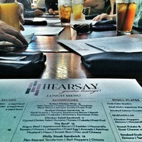 Photo taken at Hearsay Gastro Lounge by Andi R. on 1/25/2013