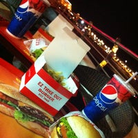 Photo taken at EZ Take Out Burger by Salem A. on 1/17/2013