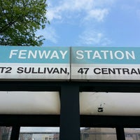 Photo taken at MBTA Fenway Station by Paul H. on 5/23/2013