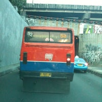 Photo taken at Underpass Pasar Gembrong by ridha s. on 9/30/2012