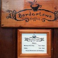 Photo taken at Bordertown Coffee by Annemarie M. on 3/2/2013