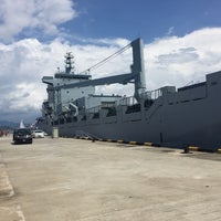 Photo taken at Royal Malaysian Navy, Sepanggar by Bl4cktr4ck M. on 4/30/2016