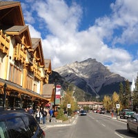 Photo taken at Banff National Park by Steve T. on 10/6/2012