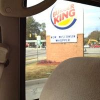 Photo taken at Burger King by Missupersport T. on 11/5/2012