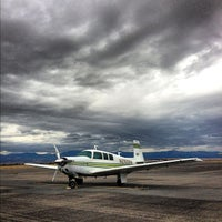 Photo taken at Helena Regional Airport (HLN) by kris k. on 10/15/2012