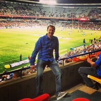 Photo taken at Free State Stadium (Vodacom Park) by Stefan S. on 6/1/2013
