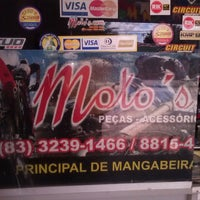 Photo taken at Moto's.com by Diego V. on 7/15/2013