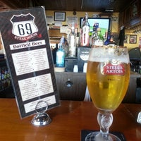 Photo taken at Route 69 Steak House by Joe S. on 5/2/2013