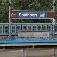 Photo taken at CTA - Southport by Joe C. on 10/4/2012