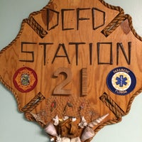 Photo taken at MDFR Station 21 by Ismael B. on 2/14/2014