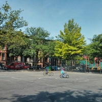 Photo taken at Park Slope Playground by Andrew M. on 6/22/2013