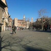 Photo taken at Campo Santa Margherita by Lorenzo B. on 12/3/2012
