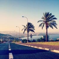Photo taken at Sea of Galilee - Kinneret (כנרת) by Sefi S. on 6/12/2013
