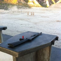 Photo taken at Angeles Shooting Ranges by Teddy Y. on 1/13/2013