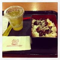 Photo taken at Hoka Hoka Bento by Kyo A. on 10/26/2013