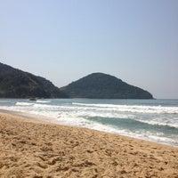 Photo taken at Praia Itamambuca by Dri A. on 10/14/2012