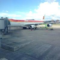 Photo taken at La Aurora International Airport (GUA) by Fernando M. on 7/21/2013