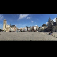 Photo taken at Grote Markt by Shinya S. on 9/4/2015