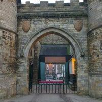 Photo taken at Lincoln Castle by Joel M. on 1/10/2013