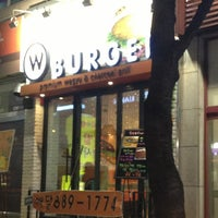 Photo taken at W Burger by 병곤 김. on 12/27/2012
