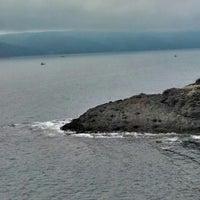 Photo taken at Garipçe by Ebru on 7/7/2013