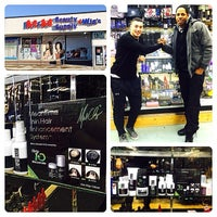 Photo taken at M&M Beauty Supply by Mikal C. on 1/25/2014
