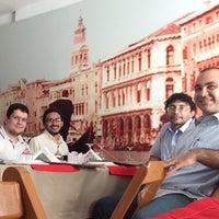 Photo taken at Pizzaria La Dolce Vita by Glauco A. on 6/5/2014