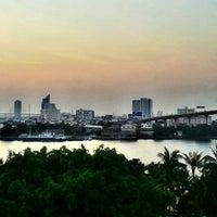 Photo taken at Anantara Bangkok Riverside Spa & Resort by Kuldej S. on 1/17/2013