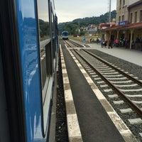 Photo taken at Železniční stanice Semily by Jarda V. on 7/17/2016