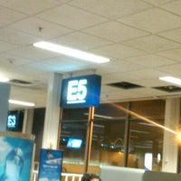 Photo taken at Gate E5 by Jenn M. on 10/17/2012