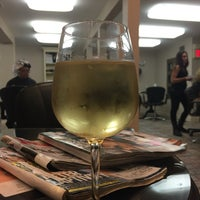 Photo taken at Shear Ego Salon & Spa by Diedra K. on 7/22/2016