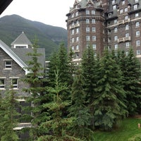 Photo taken at The Fairmont Banff Springs Hotel by Tina P. on 7/8/2013