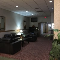 Photo taken at Howard Johnson Hotel by Nic T. on 9/8/2016