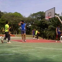Photo taken at Uitm basketball court by red r. on 9/29/2012