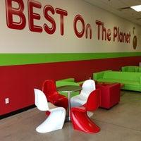 Photo taken at CherryBerry Yogurt Bar by Kales on 10/15/2012