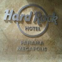 Photo taken at Hard Rock Hotel Panama Megapolis by Marcela P. on 12/16/2012