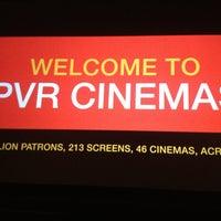 Photo taken at PVR Cinemas Kotak IMAX by Rohhan D. on 2/24/2013