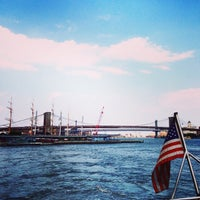 Photo taken at New York Water Taxi - Pier 11, Slip A by Kenny K. on 6/22/2014