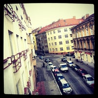 Photo taken at Hotel INOS Prague by Ekaterina S. on 11/2/2012