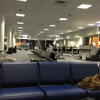 Photo taken at Gate C19 by Aaron G. on 2/23/2013