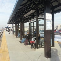Photo taken at UTA FrontRunner Murray Station by Bill B. on 2/7/2013