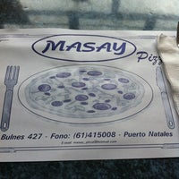 Photo taken at Masay Pizza & Sandwich by Meli on 1/30/2013