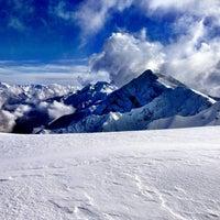 Photo taken at Rosa Khutor Ski Resort by Kristina K. on 12/30/2012