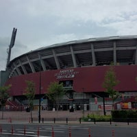 Photo taken at MAZDA Zoom-Zoom Stadium Hiroshima by F14A10rqlY y. on 7/2/2013