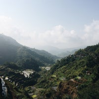 Photo taken at Banaue Rice Terraces Viewpoint by Daisy P. on 4/15/2016